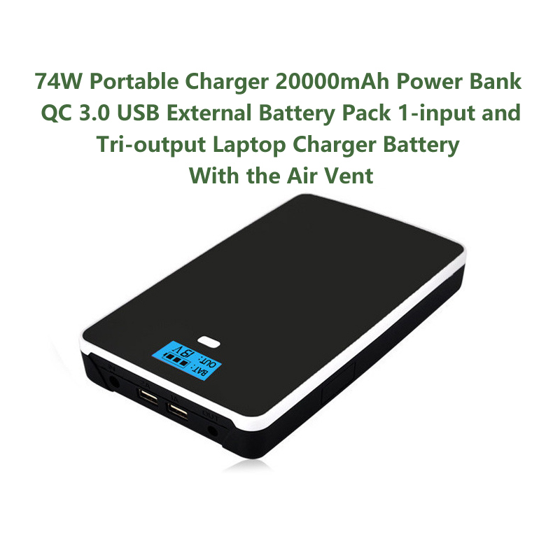 Mobile Power Bank Battery For Notebook Camera Smart Phone