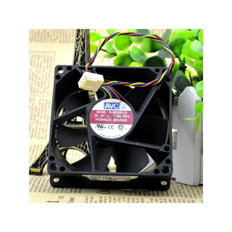 AVC DL08025R12U-PS14 CPUファン