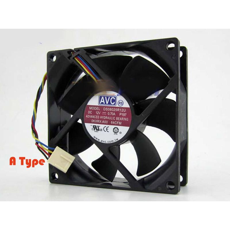 AVC DS08025R12U-P209 CPUファン