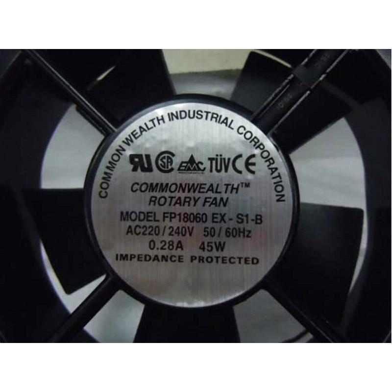 COMMONWEALTH FP18060 EX-S1-B CPUファン