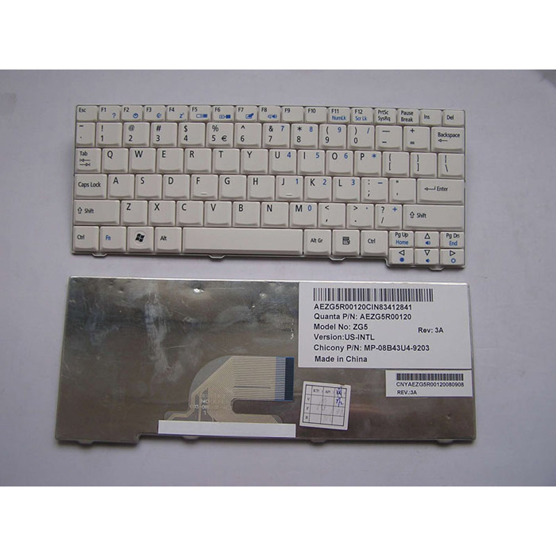 Laptop Keyboard ACER ASPIRE One 531H for laptop
