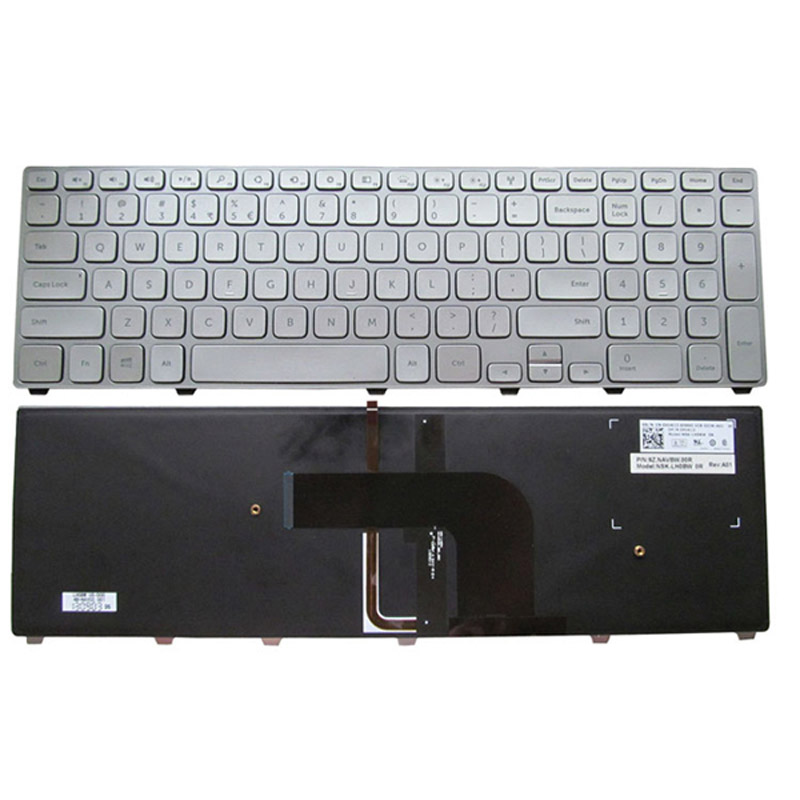 Laptop Keyboard Dell Inspiron 17 7000 7737 for laptop