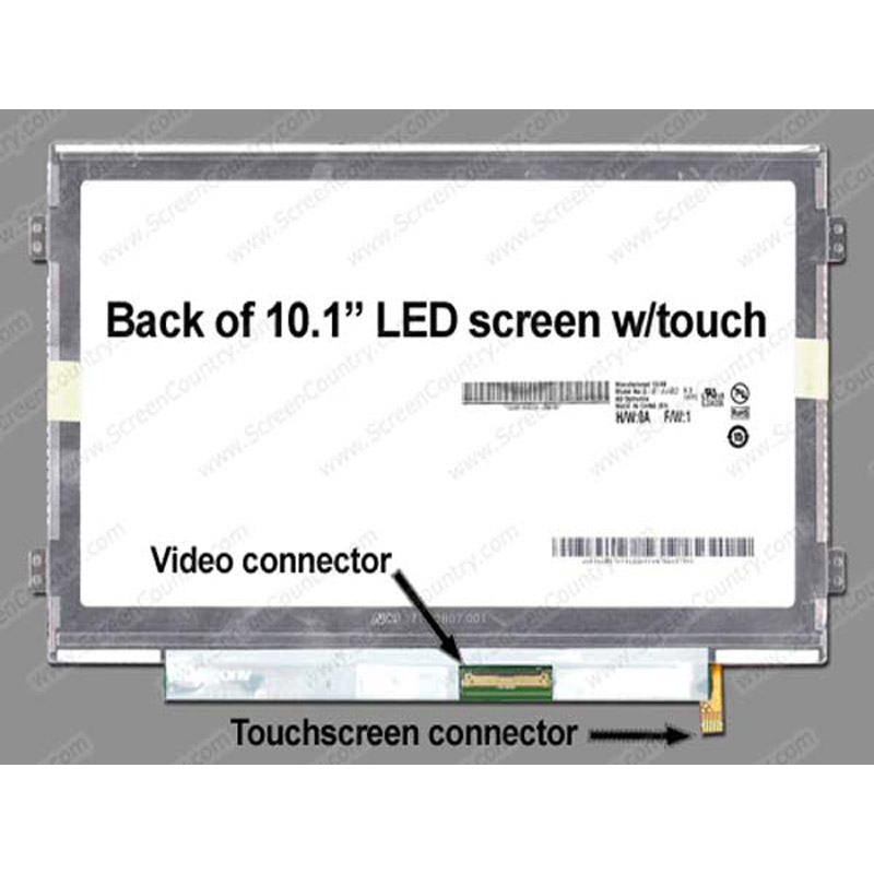 LCD Panel AUO B101AW02 V.3 TOUCH for PC/Mobile