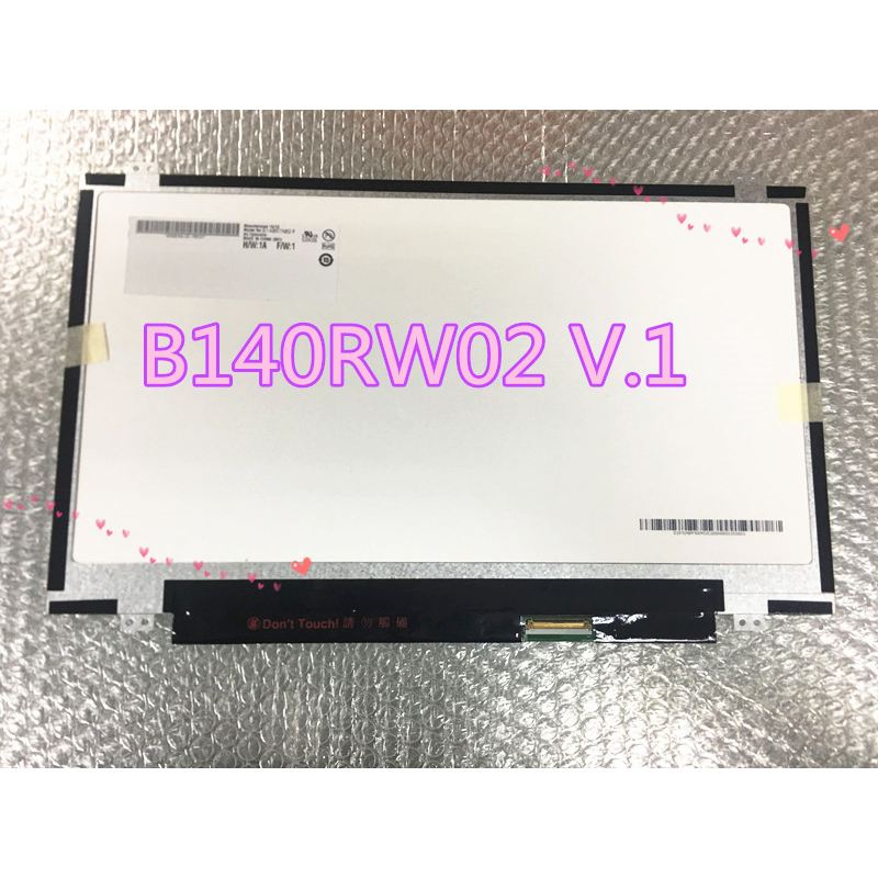 LCD Panel AUO B140RW02 for PC/Mobile