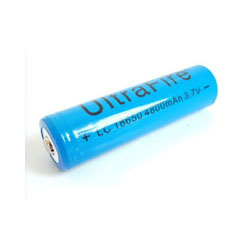 1PC 18650 UltraFire Battery 4800mAh (Rechargeable button top Li-ion with PCB protection)