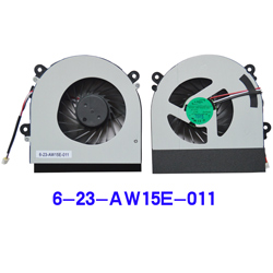 ADDA AB7905HX-DE3 Fan for HASEE K590S K750S I7 D1 for HASEE K590S K750S I7 D1 / DELL Inspiron N5110