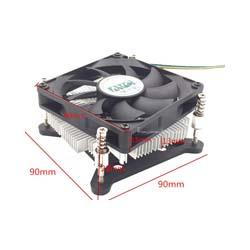 Ultra-thin Copper-core Radiator for 1U Server 1156 1155 1150 1151 CPU AIO(all-in-one) Machine HTPC S