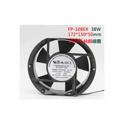 AC220V COMMONWEALTH FP-108EX-S1-B Porous Bearing Fan