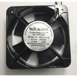 Brand New Original COMMONWEALTH Cabinet Cooling Fan FP-108EX-S1-B AC110V 0.43A 35W 150 x 150 x 51mm