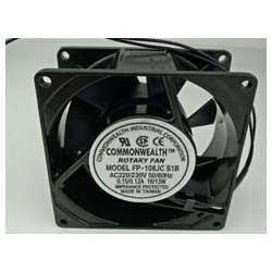 Brand New COMMONWEALTH FP-108JC S1B Small Axial Flow Cabinet Ventilation Fan AC220/230V 0.15/0.12A 1