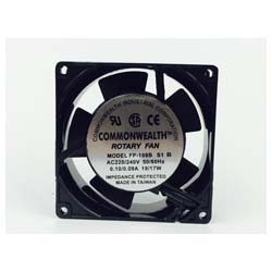 Brand New COMMONWEALTH FP-108B S1 B Double Bearing 220V AC Cooling Fan