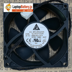 Original New DELTA QUR0912VH 9025 9CM 12V 0.60A HP P/N:468763-001 HP Server Fan Cooler