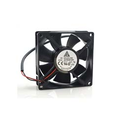 Delta AFB0812H 8cm 8025 12V 0.24A 2-Wire Double Ball Bearing Case Power Supply Cooling Fan Cooler
