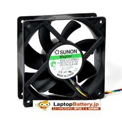4-Pin 4-Wire DELL OPTIPLEX 745/755/760 Desktop Computer Cooling Fan KDE1212PMV1 8.4W DC12V