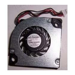 TOSHIBA GDM610000250 CPU Fan