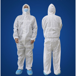 2 vetements de protection médicaux jetables médicaux M + L