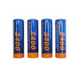 4 AA 2400mAh Ni-MH Rechargeable Battery