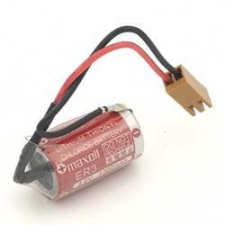 高品質TOSHIBA東芝 ER3 リチウム電池 NP8P-BT MAXELL ER3 3.6V 1/2AA