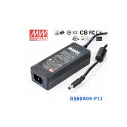 MEAN WELL GS60A09-P1J 9V 6A AC to DC Switching Power Supply