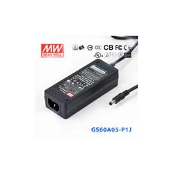 MEAN WELL GS60A05-P1J 5V 6A AC to DC Switching Power Supply